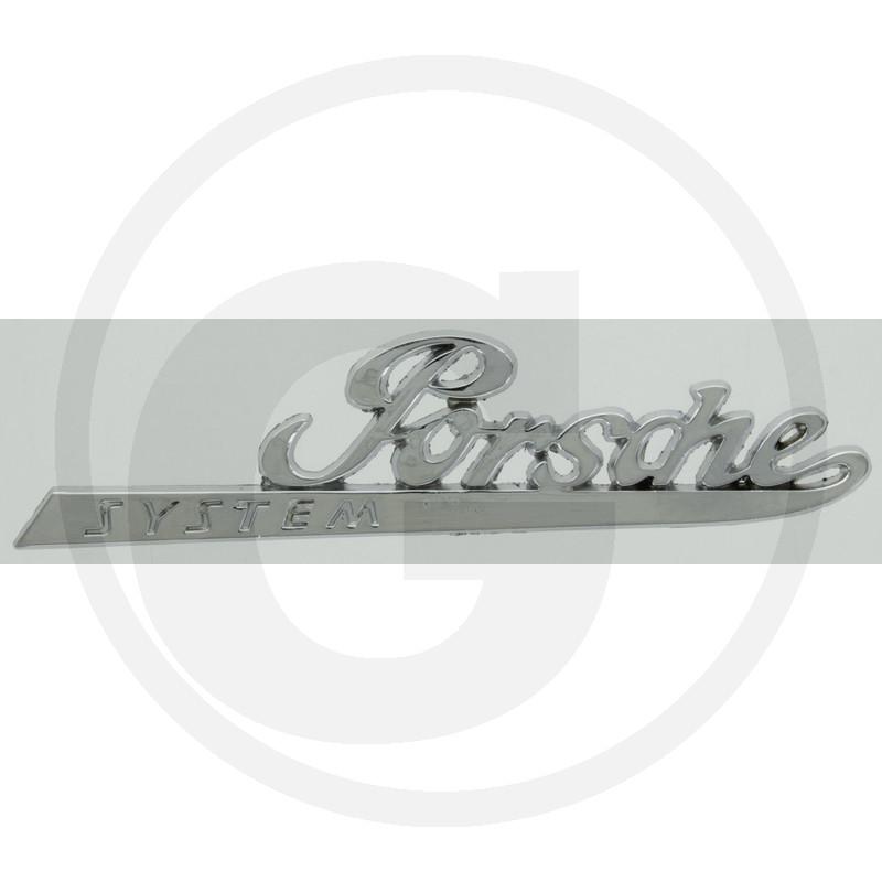 Acorn Services Tractor Parts Lettering Chrome (Porsche)