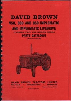 David Brown Manuals on