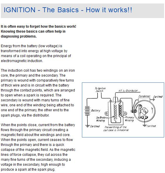 12 volt wiring diagram  ignition how it works