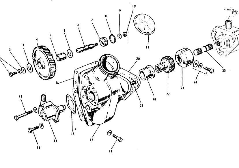 1700 ford tractor steering parts diagram  ford  auto