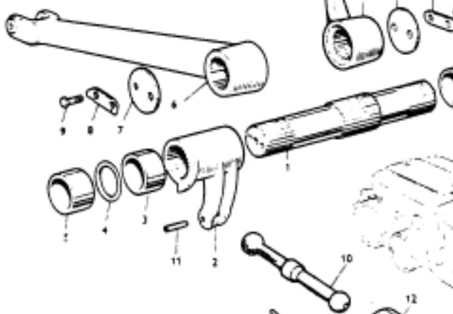 Ford Tractor Lift Arm Bolts : Remove lift cover ford tractor embly parts diagram
